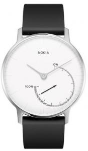 Nokia Steel Wristband activity tracker Senza fili Acciaio inossidabile, Bianco