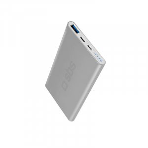 SBS TTBB5000ALS Polimeri di litio (LiPo) 5000mAh Argento batteria portatile