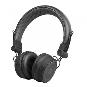 SBS TTHEADPHONEDJBTK Padiglione auricolare Stereofonico Senza fili Nero auricolare per telefono cellulare