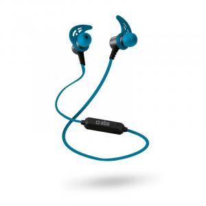 SBS TESPORTEARSETBT500B Auricolare, Passanuca Stereofonico Senza fili Blu auricolare per telefono cellulare