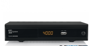 TELE System TS4000 Cavo Full HD Nero set-top box TV