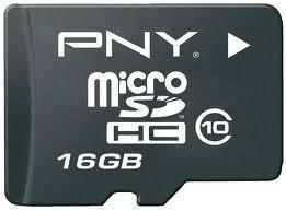 PNY MicroSD memoria flash 16 GB Classe 10