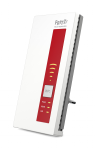 AVM FRITZ!WLAN Repeater 1750E International Rosso, Bianco
