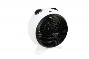 ARGO Kira Ice Riscaldatore ambiente elettrico con ventilatore Interno Nero, Bianco 2000 W