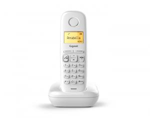 Gigaset A270 Telefono DECT Bianco Identificatore di chiamata
