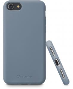 Cellularline Sensation - iPhone 8/7 Custodia in silicone soft touch Grigio