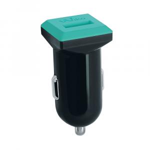 Wiko WKPWDC1U1AS1 Caricabatterie per dispositivi mobili Auto Nero, Verde