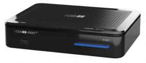 ADB i-CAN 4900T+ set-top box TV Ethernet (RJ-45), Terrestre Nero