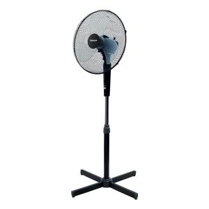 Termozeta Windzeta Ventilatore domestico con pale Nero, TZWZ02-B