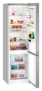 Liebherr CNPef 4813 frigorifero con congelatore Libera installazione Argento 338 L A+++