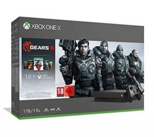 Microsoft Bundle Xbox One X Gears 5 (1 TB) Nero 1000 GB Wi-Fi