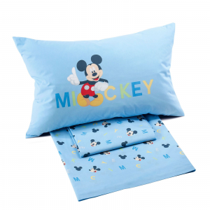 Caleffi sheets complete SQUARE and HALF sheet Disney MICKEY BOYS