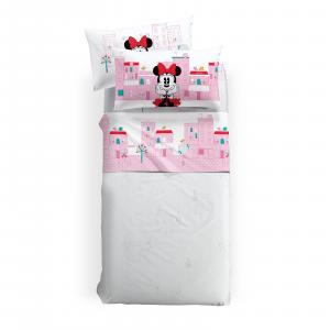 Set lenzuola Minnie Caleffi Piazza e mezza Disney MINNIE CITY