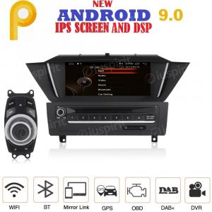 ANDROID 9.0 GPS DVD USB SD WI-FI Bluetooth Mirrorlink autoradio navigatore compatibile con BMW X1 E84 2009-2015