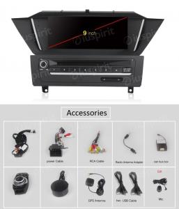 ANDROID 10 autoradio navigatore per BMW X1 E84 2009-2015  GPS DVD USB SD WI-FI Bluetooth Mirrorlink