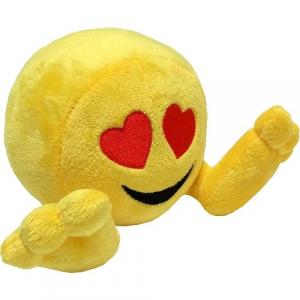 Peluche: Plushiez Emoji (11cm) Love Eyes