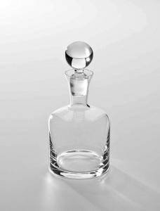 Bottiglia in vetro con tappo 0,75 l cm.19h