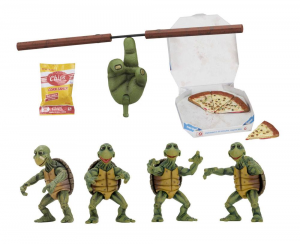 Teenage Mutant Ninja Turtles Action Figure 1/4: 4-Pack Baby Turtles by Neca