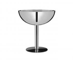 Coppa Champagne in acciaio inox cm.11h diam.10