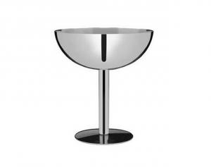 Coppa Champagne in acciaio inox Set 6 pezzi cm.11h diam.10