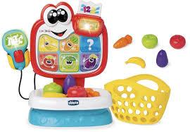 Gioco bilingue Baby Market adatto ai bambini dai 18 mesi / 4 anni Chicco