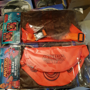Masters of the Universe marsupio: SDCC Belt of Power Fanny Pack