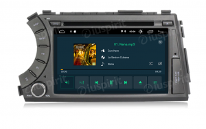 ANDROID 9.0 GPS DVD USB SD WI-FI Bluetooth Mirrorlink autoradio 2 DIN navigatore per SsangYong Kyron Actyon 2005-2013
