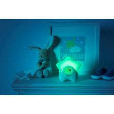 Luce notte termometro stella ricaricabile Chicco