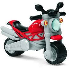 Moto cavalcabile Ducati Monster per bambini dai 18 mesi /5 anni Chicco