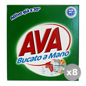 Set 8 AVA Bucato 380 gr Detergenti Casa