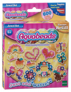 AQUABEADS Aquabeads jewel set, perle 630 / col 8 gioco per bambine