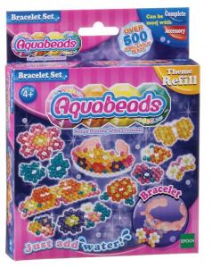 AQUABEADS Aquabeads bracelet set, perle 525/col 8 gioco per bambine