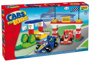 ANDRONI Scatola grande costruzioni unico formula uno 61 pezzi gioco per bambini