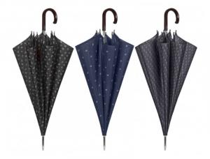 PERLETTI Ombrello golf auto.geo.12120 accessorio per la pioggia