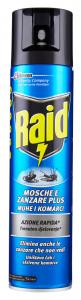 RAID Mosche e zanzare psray 400 ml - Insetticidi E Repellenti