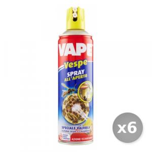 Set 6 VAPE Vespe Spray 400 ml Articoli per Insetti