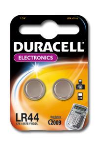 DURACELL batteria lr44 1,5 volt blister 2 pezzi servizi generali pila