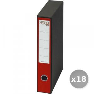 Set 18 BREFIOCART raccoglitore protocollo d5 rosso 0201157 dossier