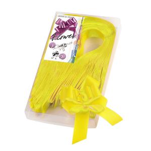 BRIZZOLARI fiocco strip giallo 2100 31mm confezione 30 6800