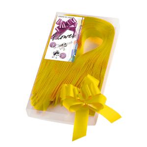 BRIZZOLARI fiocco strip oro 2100 31mm confezione 30 6800