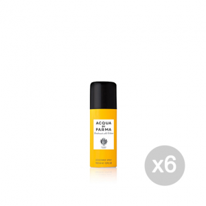 Set 6 ACQUA DI PARMA Colonia Deodorante Spray 150 Ml Cura Del Corpo E Bellezza