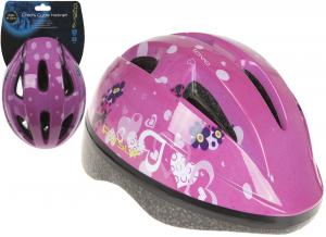 PURSUIT Casco da bici per bambini 48cm-52cm. rosa articolo per la sicurezza