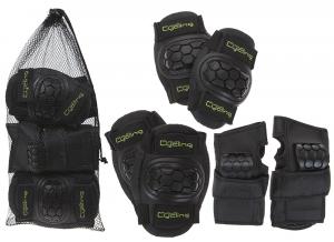 PURSUIT Set da 6 pezzi di protezioni per ginocchia, gomiti e polsi