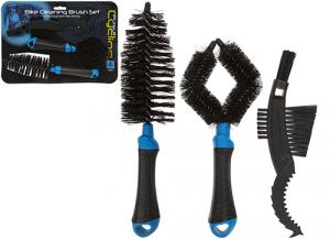 PURSUIT Set da 3 pezzi di spazzole per la pulizia della bici