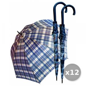 VERRI Set 12 Ombrello Grande Automatico Fantasia 'GOLF' ART.564 Accessori Per la Casa