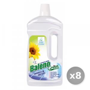 Set 8 BALENO Pavimenti green 1L detergente profumatoprodotto per la casa