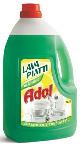 ADOL Detersivo profumato per 4L piatti limone detergente per la cucina