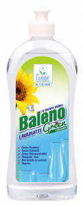 BALENO Detersivo profumato per 500 ml piatti concentrato green