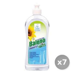 Set 7 BALENO Detersivo profumato per 500 ml piatti concentrato green