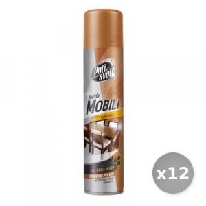 Set 12 BERGEN Pulisvelt Lucida Mobili 300 ml Spray - Detergenti per Mobili